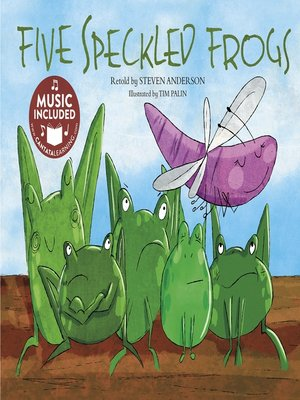 cover image of Five Speckled Frogs