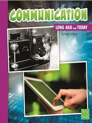 cover image of Communication Long Ago and Today