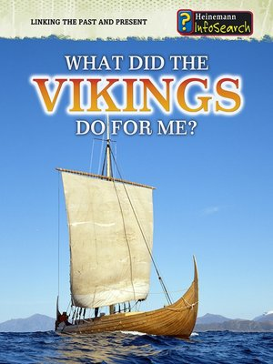 cover image of What Did the Vikings Do for Me?