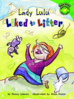 cover image of Lady Lulu Liked to Litter