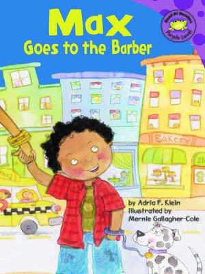 cover image of Max Goes to the Barber