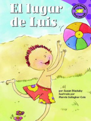 cover image of El lugar de Luis