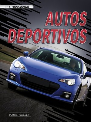 cover image of Autos deportivos
