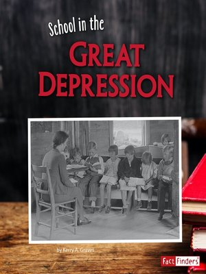 cover image of School in the Great Depression