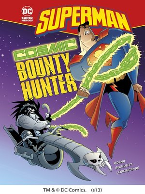 cover image of Cosmic Bounty Hunter