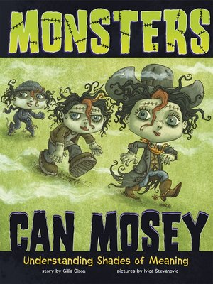 cover image of Monsters Can Mosey