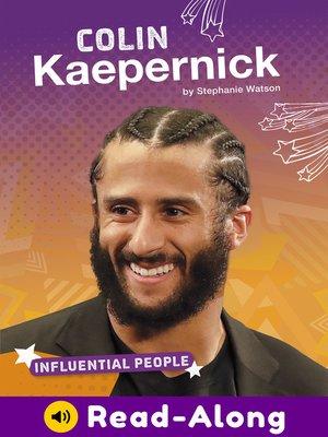 cover image of Colin Kaepernick
