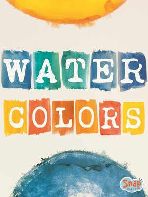 cover image of Watercolors