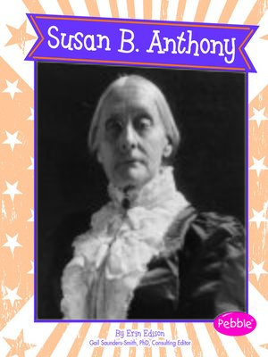 cover image of Susan B. Anthony