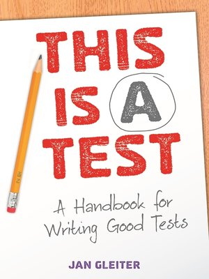 cover image of This Is a Test