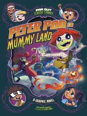 cover image of Peter Pan in Mummy Land