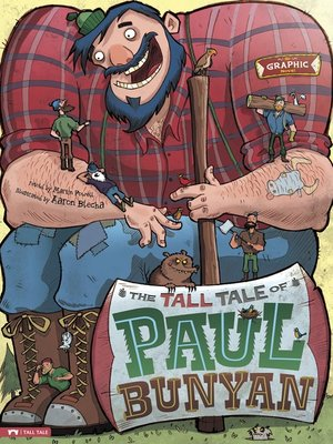 cover image of The Tall Tale of Paul Bunyan