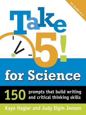 cover image of Take Five! for Science