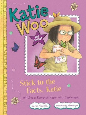 cover image of Stick to the Facts, Katie