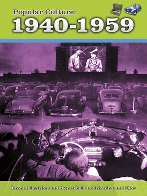 cover image of Popular Culture: 1940-1959