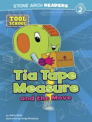 cover image of Tia Tape Measure and the Move
