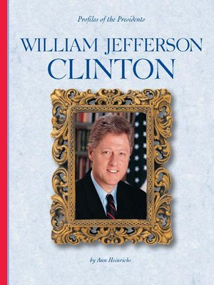 an introduction to the united states government and the life of william jefferson clinton William jefferson clinton (born william jefferson blythe iii august 19, 1946) is an american politician who served as the 42nd president of the united states from january 20, 1993, to january 20, 2001.