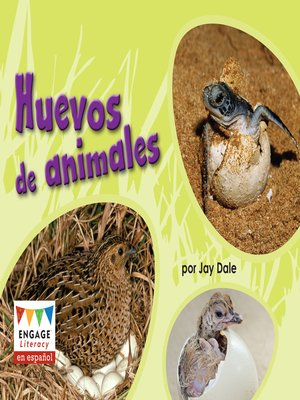 cover image of Huevos de animales