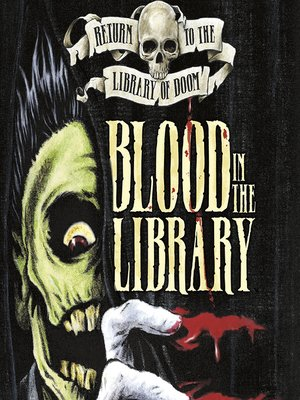 cover image of Blood in the Library