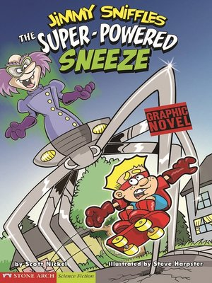 cover image of The Super-Powered Sneeze
