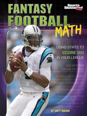 cover image of Fantasy Football Math