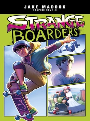 cover image of Strange Boarders