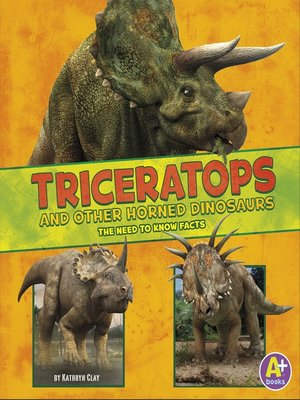 cover image of Triceratops and Other Horned Dinosaurs