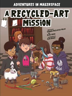 cover image of A Recycled-Art Mission