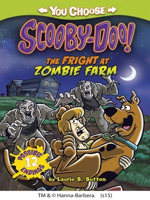 cover image of The Fright at Zombie Farm