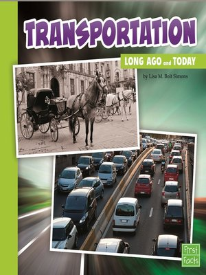 cover image of Transportation Long Ago and Today