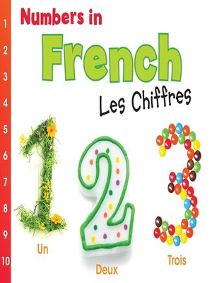 cover image of Numbers in French