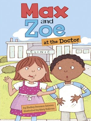 cover image of Max and Zoe at the Doctor