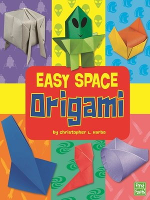 cover image of Easy Space Origami