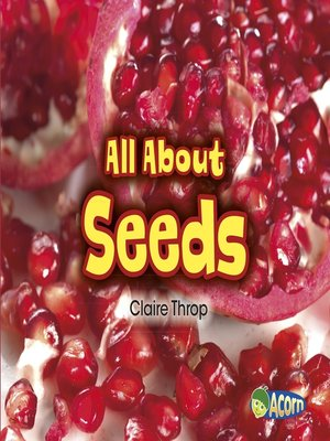 cover image of All About Seeds
