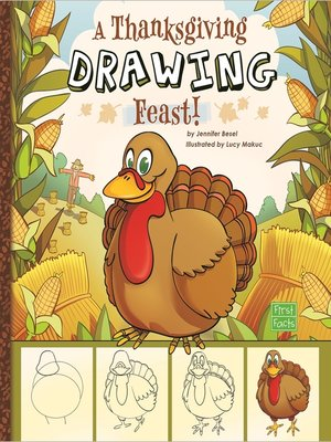 cover image of A Thanksgiving Drawing Feast!