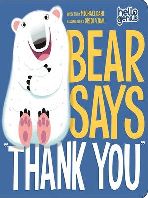 "cover image of Bear Says ""Thank You"""