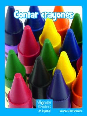 cover image of Contar crayones