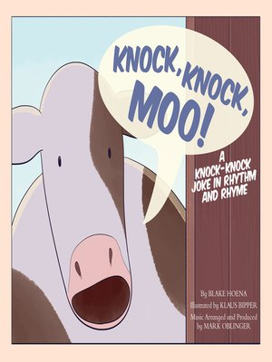 cover image of Knock, Knock, Moo!