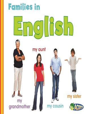 cover image of Families in English