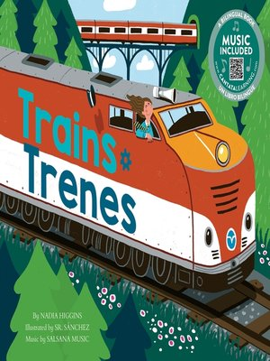 cover image of Trains / Trenes