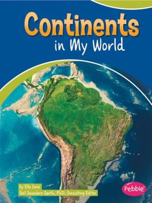 cover image of Continents in My World