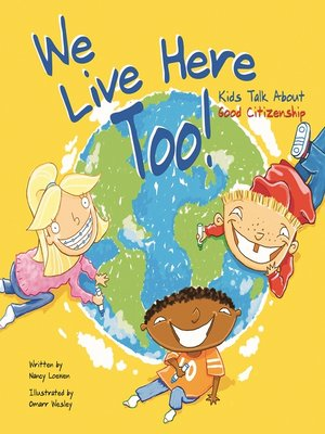 cover image of We Live Here Too!