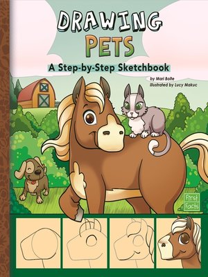 cover image of Drawing Pets