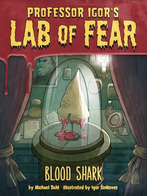 cover image of Blood Shark!