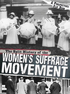 cover image of The Split History of the Women's Suffrage Movement