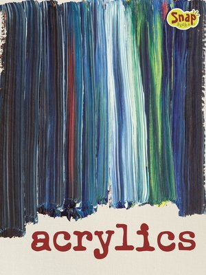 cover image of Acrylics