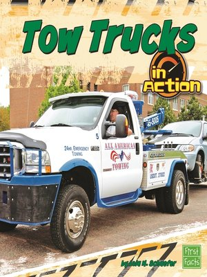 cover image of Tow Trucks in Action