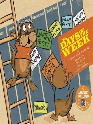 cover image of The Days of the Week