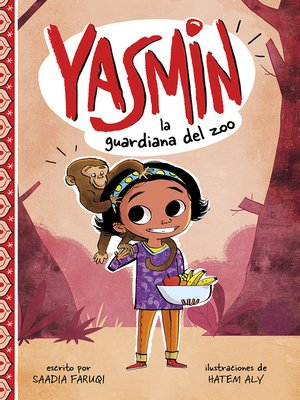 cover image of Yasmin, la guardiana del zoo