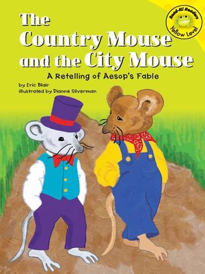 cover image of The Country Mouse and the City Mouse